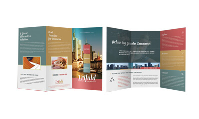 Folded-flyers
